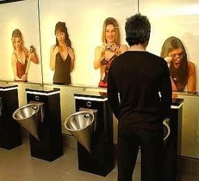 urinal mann mit frauen