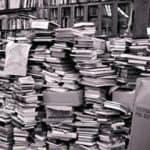 Wie ich fast tausend meiner Bücher weggab und dabei Loslassen übte.