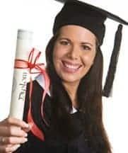 frau aufstieg karriere studium diplom mba doktorhut foto: bilderbox fotolia.com