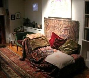 Hier fing es an. Die Couch von Sigmund Freud.