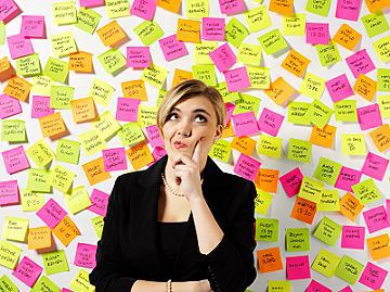 post-it, verzetteln, xs iStock_000015384568XSmall