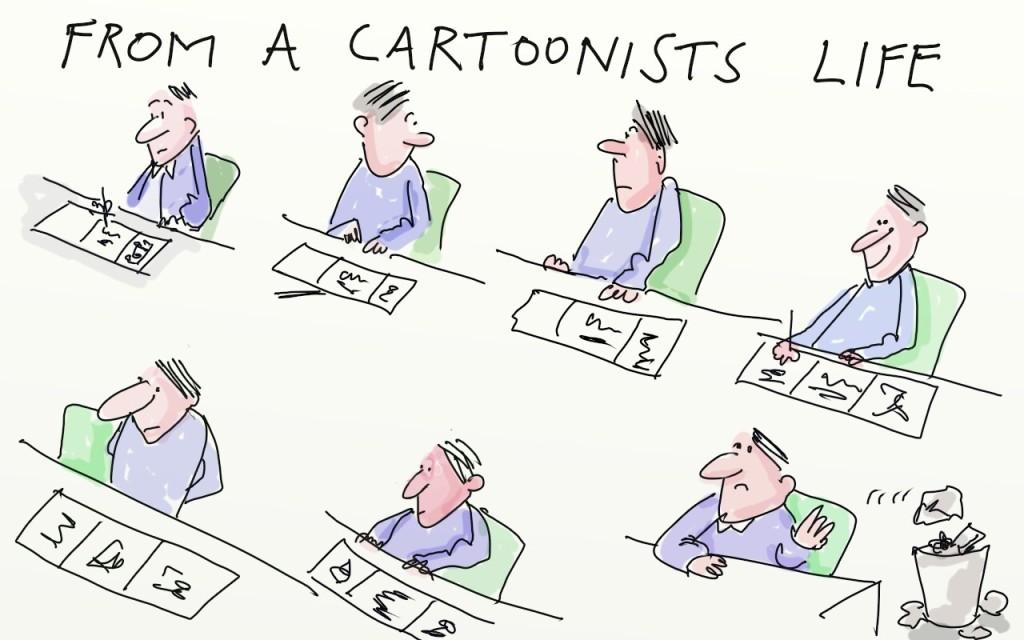 cartoonist-life
