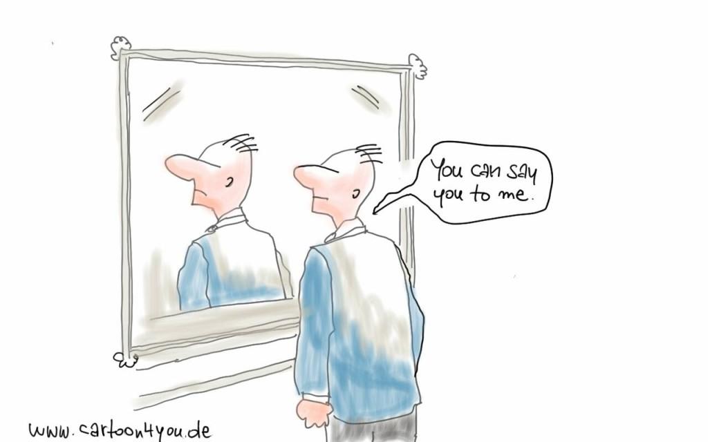 Selbstgespräche verbessern die eigene Leistung. › DER