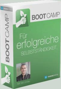Selbstständig machen, Selbstständigkeit, Das BootCamp 2.0