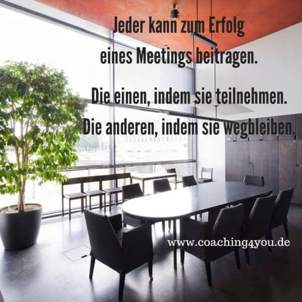Meetingerfolg